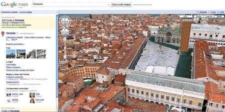 Google Earth: esplorare in 3D Venezia e Firenze