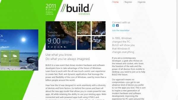 Presentazione Windows 8: i primi screenshot
