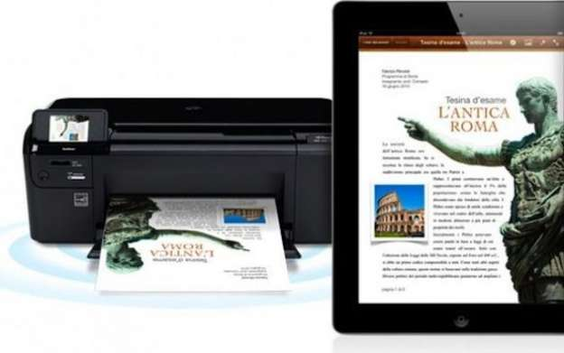 Come stampare con iPad