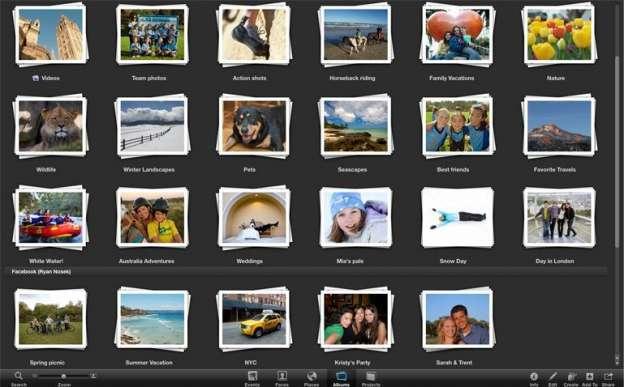 Come archiviare foto su Mac