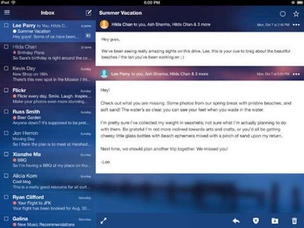 Yahoo Mail: versione aggiornata