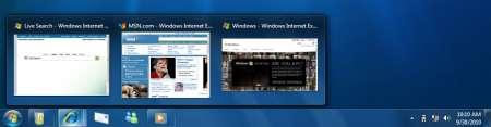 Windows 7 anticipazioni dell'interfaccia