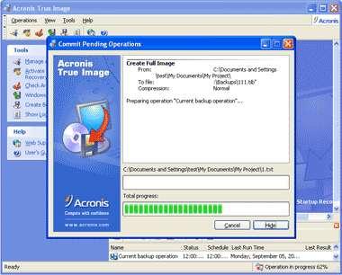 Acronis True Image 2009