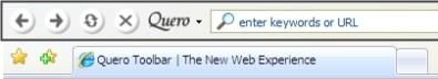 Quero toolbar
