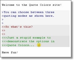 Quote Colors