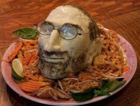 Steve Jobs: testa servita sul piatto