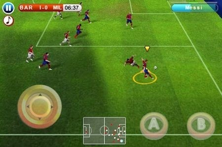 Gameloft - giochi free per iPhone - Real Football 2010