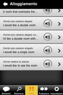 Parlami dizionario iPhone: gratis