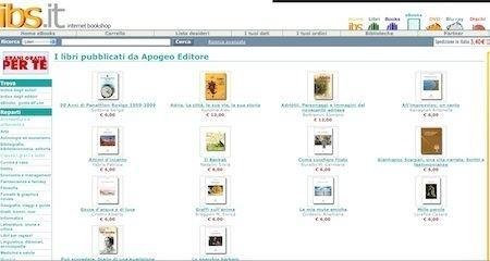 IBS avvia la vendita di eBook