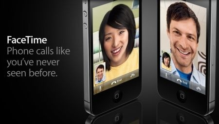 iPhone 4 - videochat con FaceTime