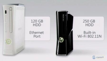 Xbox 360 - vecchia e nuova a confronto