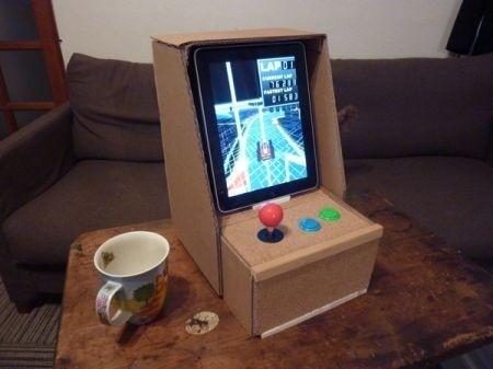 iPad in versione arcade - completo