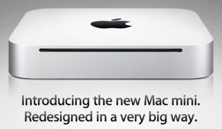 Il nuovo Mac mini di Apple in alluminio