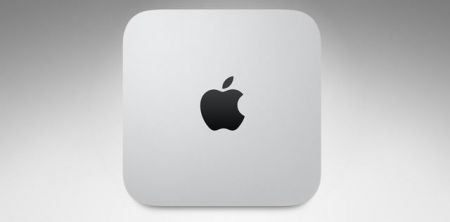 Mac mini Unibody - sopra