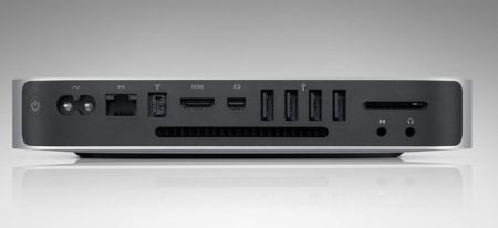 Mac mini Unibody - dietro