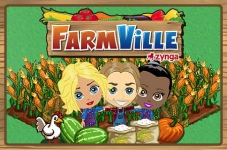 FarmVille per iPhone - splash screen