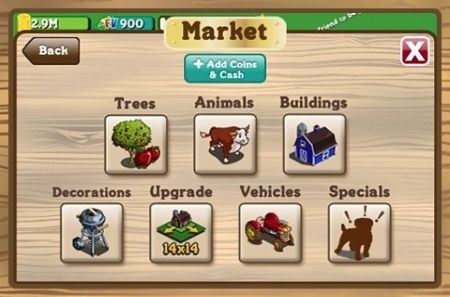 FarmVille per iPhone - market
