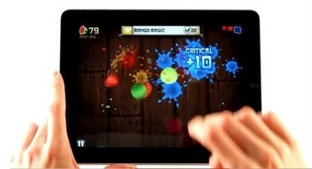 iPad Fruit Ninja