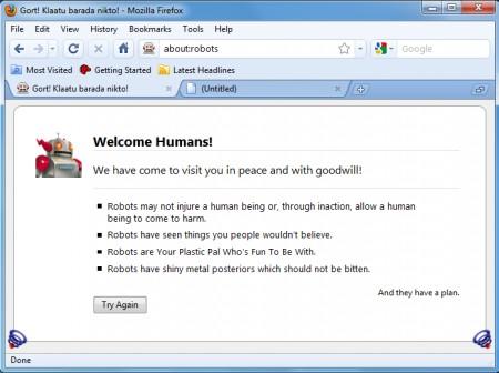Temi Firefox: Chromifox Basic