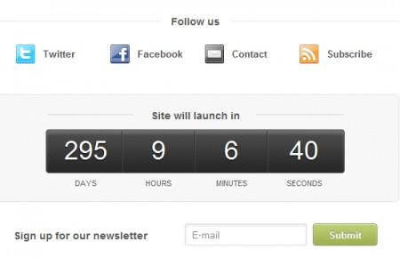 Template Wordpress per siti in costruzione: link