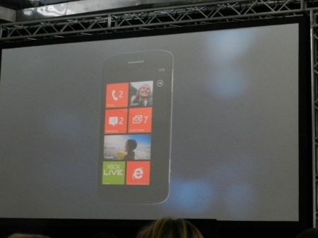 Windows Phone Mango: smartphone