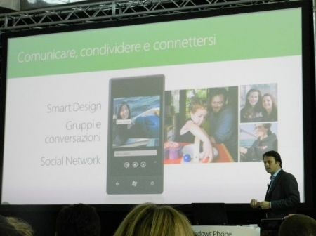 Windows Phone Mango: condivisione