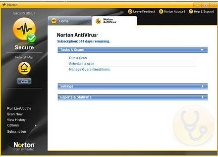 Migliori antivirus: Norton