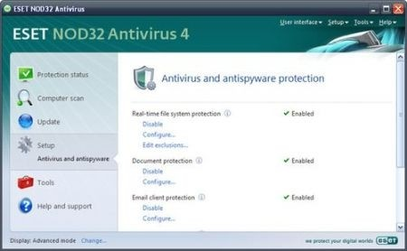 Migliori antivirus: Nod32