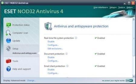 Migliori antivirus: Nod32
