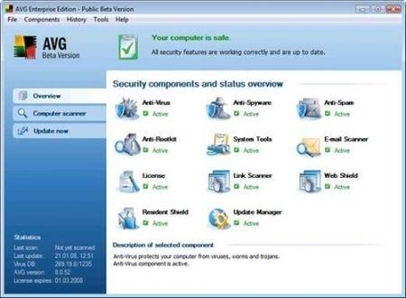 Migliori antivirus: Avg