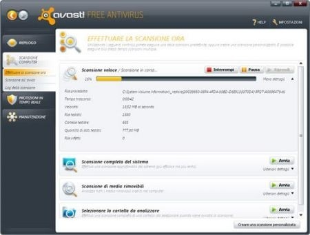 Migliori antivirus: Avast
