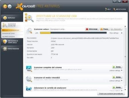 Migliori antivirus: Avast