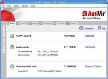 Migliori antivirus: Antivir