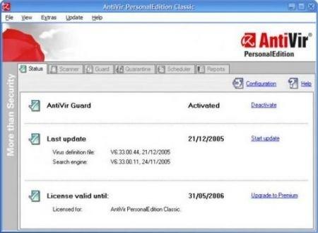 Migliori antivirus: Antivir