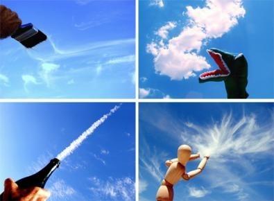 nuvole e oggetti