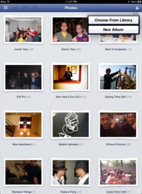 Facebook per iPad