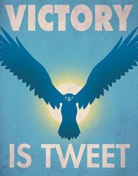 Twitter e i social network: vittoria