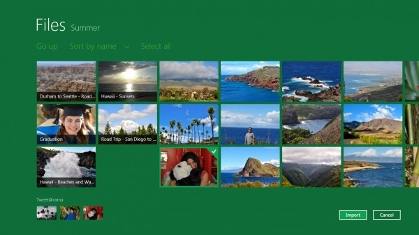Windows 8 Photopicker