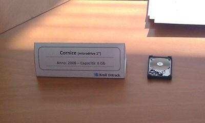 Archivio Kroll Ontrack - Hard disk Cornice del 2006