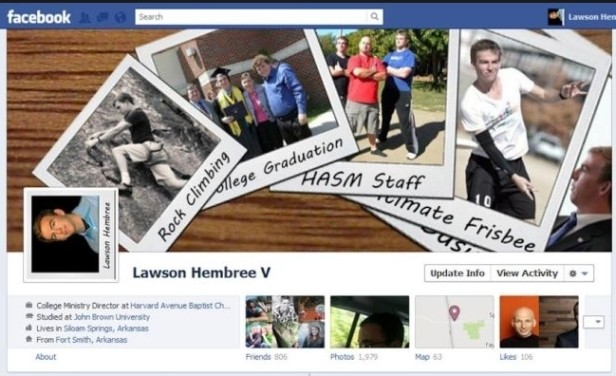 Nuova timeline di Facebook: foto