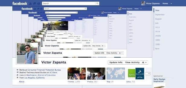 Nuova timeline di Facebook: prospettive
