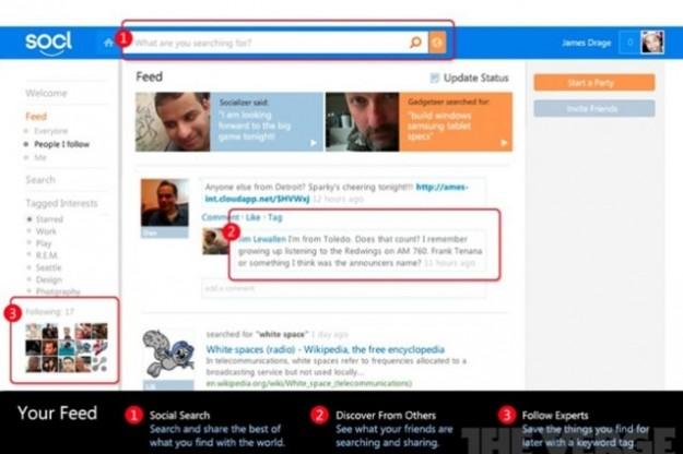 Ecco Socl, Social Network targato Microsoft