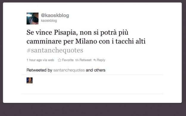 Twitter nel 2011: Santanché