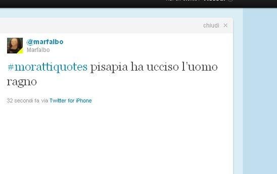 Twitter nel 2011: Giuliano Pisapia