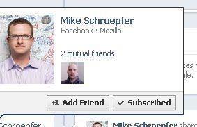 Errori di Facebook: amici