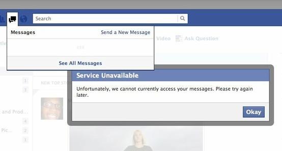 Gli errori di Facebook raccolti da Evan Priestley in una bacheca Pinterest