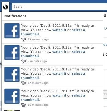 Errori di Facebook: notifiche doppie