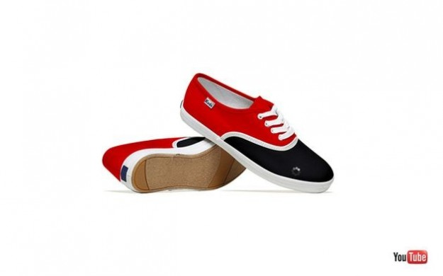 Le scarpe di YouTube