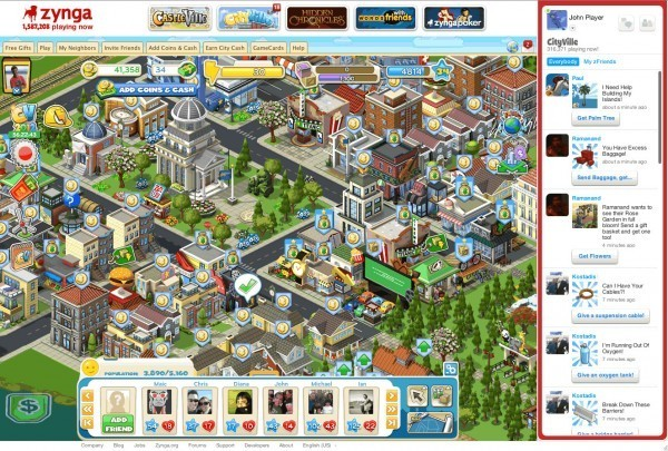 zynga cityville