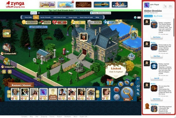 zynga hidden chronicles